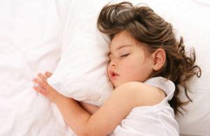 Valentina tem dificuldades para dormir