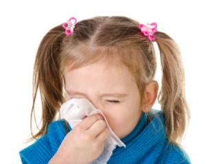 Tempo seco e a saúde das crianças