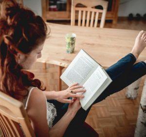 Livros podem ajudar a manter um estilo de vida mais saudável
